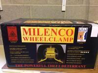 Wheel Clamp suitable for Motorhomes/Caravans