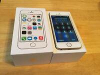 Near perfect apple iPhone 5s 32GB factory unlocked boxed