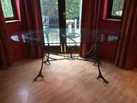 Bespoke Glass Dining Table & 8 Chairs