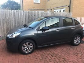 Immaculate 2014 Grey Citroen C3 1.4 HDi VTR+