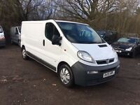 2005 VAUXHALL VIVARO TRAFIC 1.9 CDTI 6 SPEED LWB FULL MOT WE ARE VIVARO/PRIMASTAR/TRAFIC SPECIALISTS
