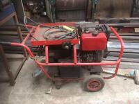 Diesel mobile welder