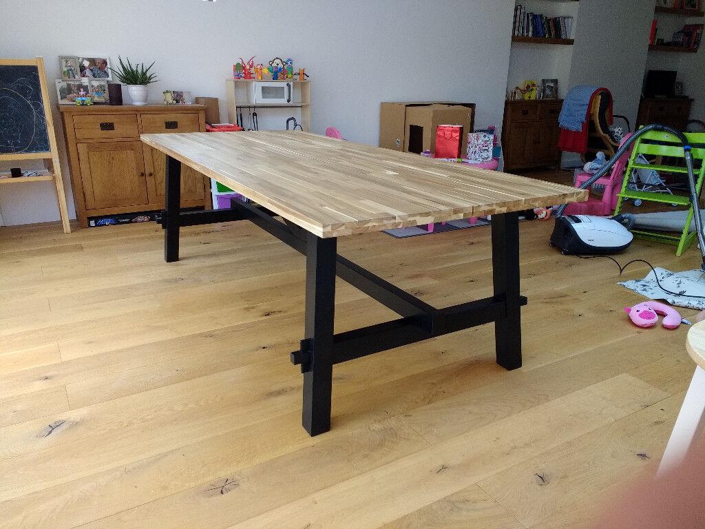 Ikea Skogsta Table For Sale In Emsworth Hampshire Gumtree