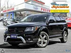 2016 Dodge Journey Crossroad***NAV/leather***