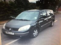2005 grand scenic 1.6 dynamique 7seater