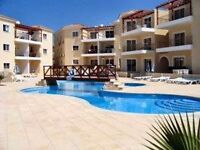 Cyprus,Paphos 2 bed modern apartment next to the sea in the touristic area
