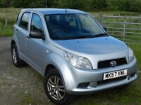 DAIHATSU TERIOS 1.5 S 5-DOOR, PETROL, MANUAL. 4x4. SERVICE HISTORY. MOT. GREAT PRICE.