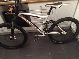 Scott genius full suspension mountain bike