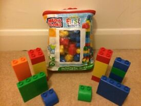 Mega blocks and chunky lego