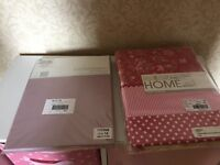 Single Duvet cover pillowcase & fitted sheet (New in original pack)