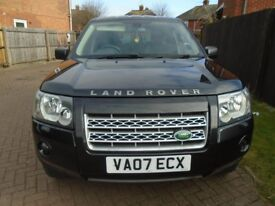 07 PLATE 2007 REG LAND ROVER FREE-LANDER 4X4 6 SPEED MANUAL WITH A TOW BAR NEW MOT JUST SERVICED