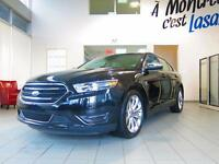 2015 Ford Taurus LIMITED,CUIR,TOIT,NAVIGATION Low mileage, Black
