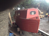 21ft canal boat shell