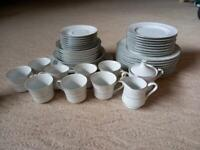 Japanese fine China dinner set 42 piece