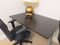Office table, computer desk, large table for office or study good condition