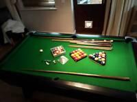 Professional Slate pool table 6x3