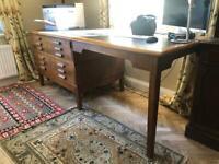Vintage Abbess Architect's Desk