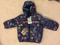 Brand New NEXT Shower Resistant Coat - aged 9-12 months