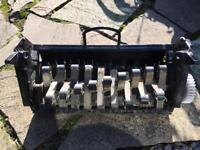 Lawnmower Scarifier Atco Qualcast Cassette QX system
