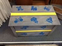 Hand Painted Toy Box