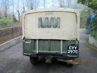 Austin Gipsy G4 M10 Soft Top - Ex-MOD -1965