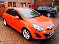 2013 Vauxhall Corsa 1.4 SRI ,Very Low mileage 12300 , Full service History , £4200