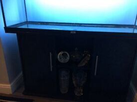 4ft jewel black aquarium