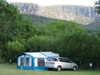 Pennine Fiesta Folding Camper, 4 berth, plus awning. Very good condition for age, light use only.