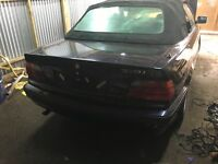 Bmw e36 convertable breaking all parts available