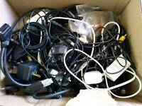Various cables & chargers