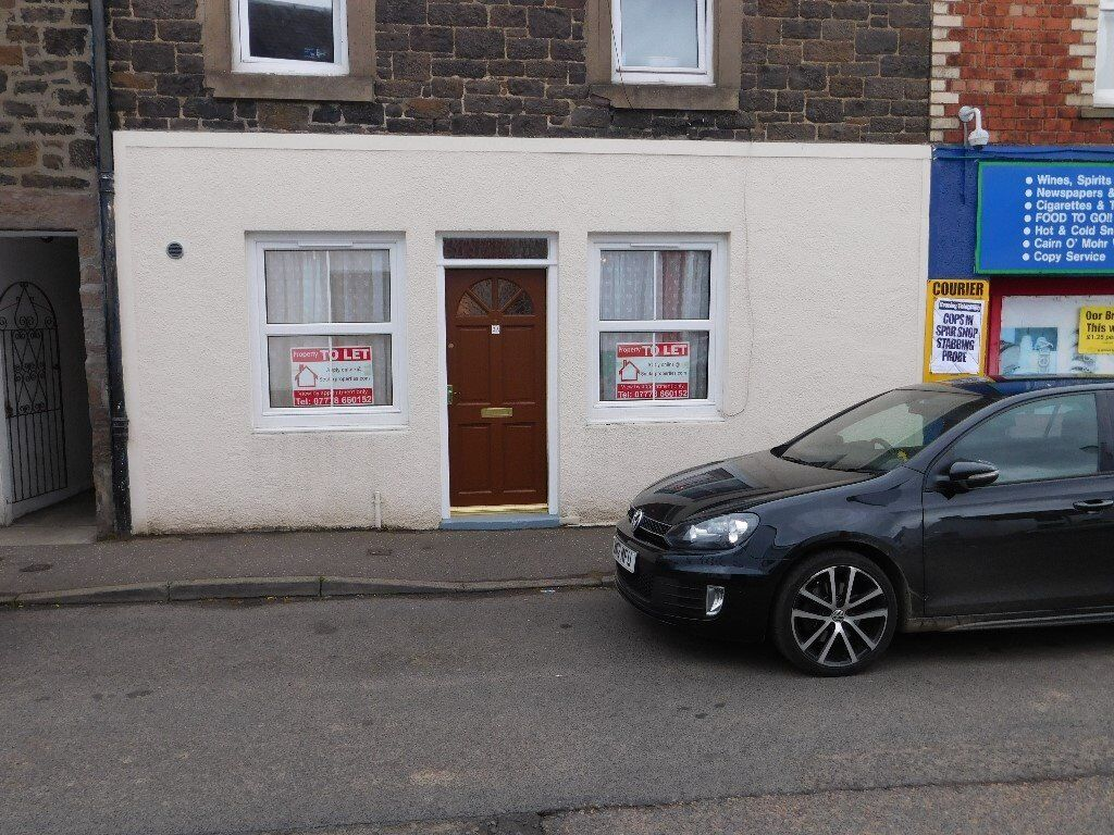 1 Bed Main Door Flat in Errol - Part Furnished