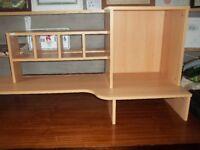 Desk top storage unit for pc, printer, stationery, files etc