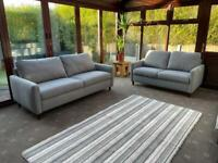Brand New High Quality 3+2 Seater Sofas Grey