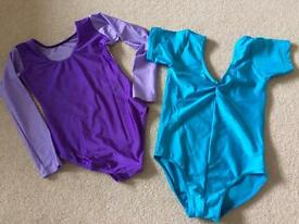 Tappers and pointers leotards