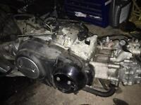 Yamaha Tmax 500cc complete engine rear wheel gearbox etc