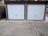 DOUBLE FRONT GARAGE TO LET NEAR GOOMAYES STATION