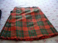 Highland Dress, Kilt, Ancient MacGregor tartan