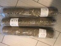 3 x New Ikea Sisal Natural Mats 80 x 240cm