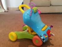 Playskool walker and rider