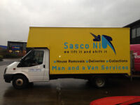 2 men and large van for hire