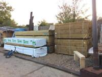 Treated c24 Construction Timber 4x2 2.4m