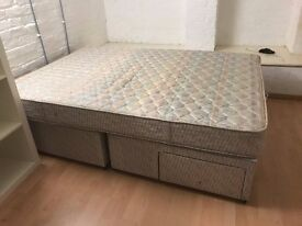 Double Bed & Matress