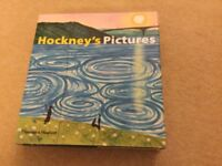 Hockneys Pictures collectable book