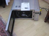 "Panasonic Microwave"" inverter ""slimline combi oven."