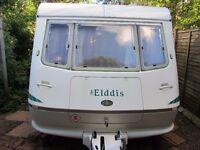 Eldis Ex300 TWO berth caravan with end bathroom