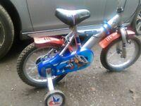 2 junior bicycle bikes 1 police