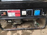 230-400v 2.3kw generator, silly price as need gone