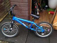Boys Blue BMX Bike Approx age 6-8