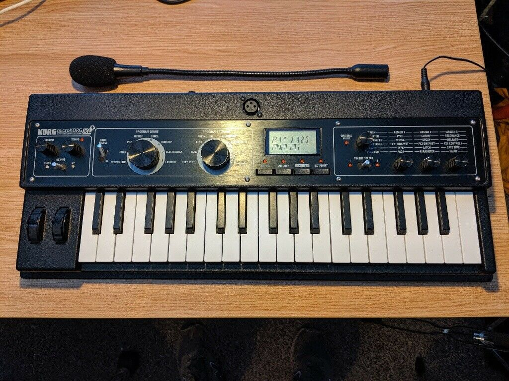 Korg Microkorg XL+ Synthesiser/Vocoder | in Seven Sisters, London | Gumtree