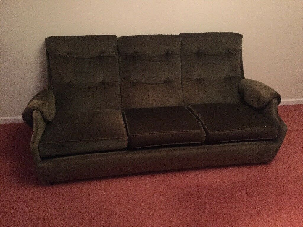 1950s 3 Seater Sofa